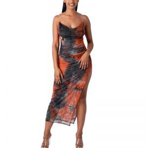 Bohemian chic summer maxi dress