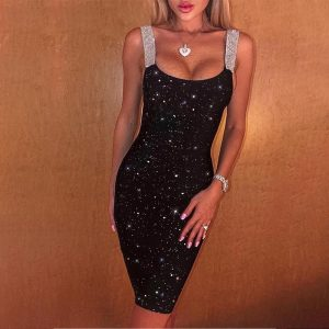 Bohemian Sequin Short Dress