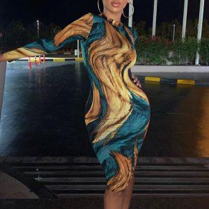 Elegant Esprit Bohemian Short Dress