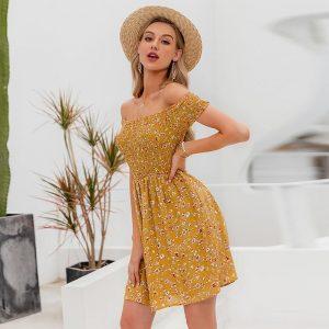 Little Bohemian Flower Dress