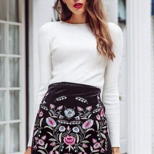 Bohemian skirt woman