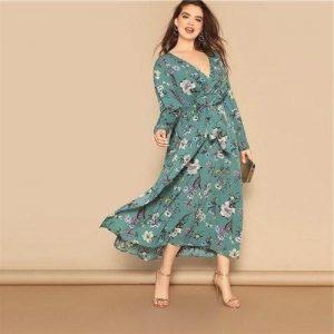 Dress hippie boheme big size