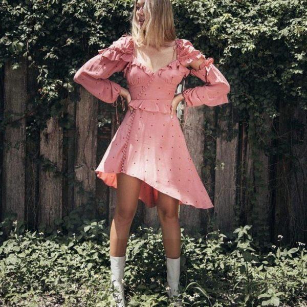 Bohemian vintage style dress