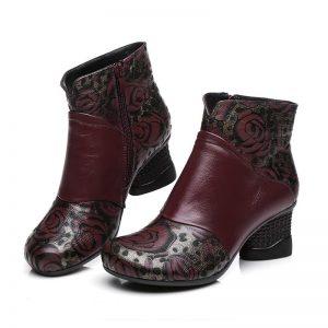 Bordeaux Winter Boots