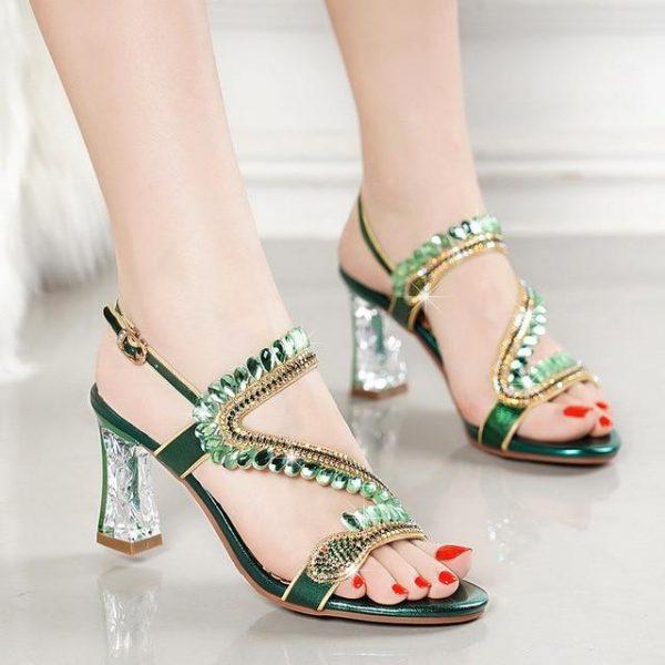 Bohemian Chic Heel Sandals