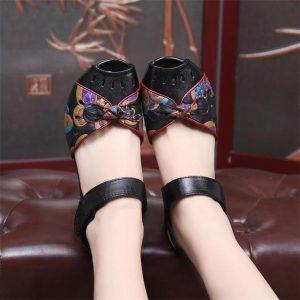 Black Bohemian Shoes