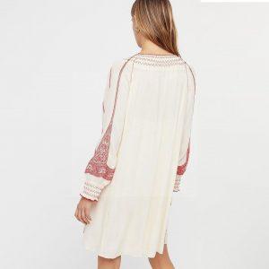 Ethical bohemian dress