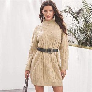 Bohemian winter dress