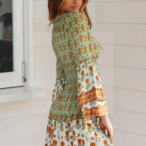 Dress boho chic summer