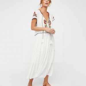 Hippie chic long dress
