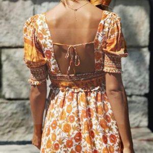 Indian hippie dress