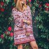 Coral Hippie Dress