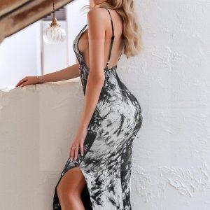 Bohemian chic flowery maxi dress